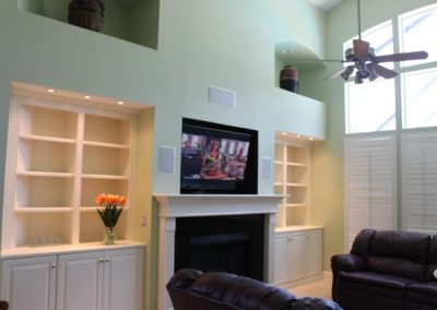 Custom Built-In by Borders Woodworks.