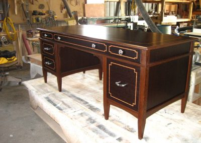 Custom wenge desk by Bob Jenkins